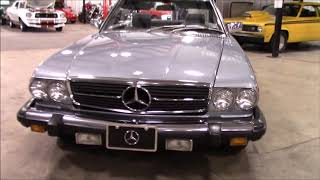1985 Mercedes 380SL gray
