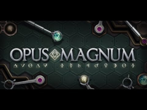 Let's Try: Opus Magnum -- Design and Build Alchemical Machines