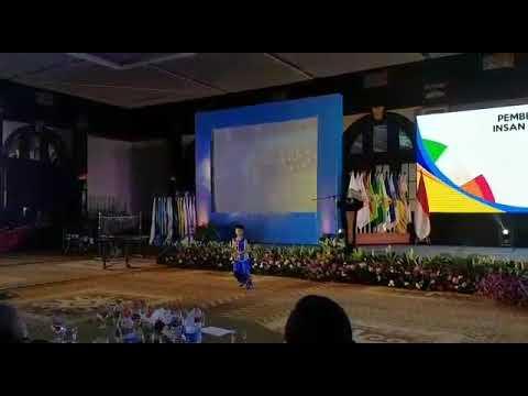 Performance Lawrence Dean Kurnia di acara ulang tahun KONI ke 79