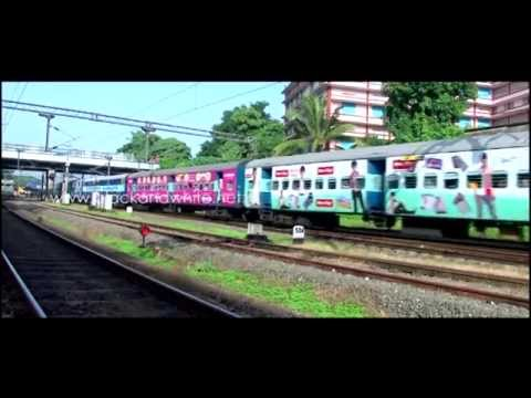 Train Exterior Advertising in Kerala by Black & White Creations Pvt.Ltd