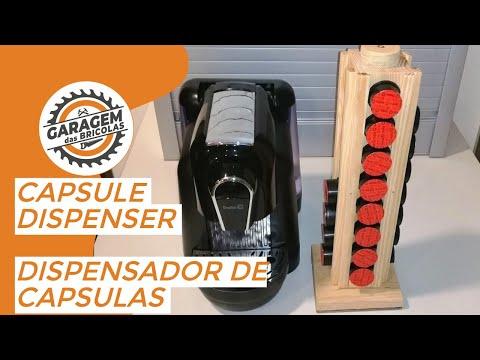 DIY# Capsule Dispenser - Dispensador de Cápsulas de Café