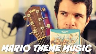 MARIO THEME on Guitar and Bongos and...Rice??