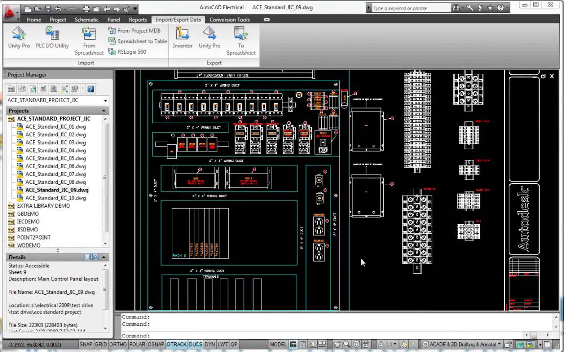 Generate Plc I  O Drawings From Spreadsheets - Autodesk Autocad Electrical 2014
