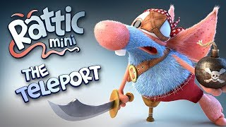 Funny Cartoon | Rattic Mini – The Teleport | Cartoons For Children | Funny Animated Cartoon Series