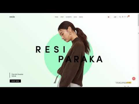 Nexio - Fashion WooCommerce Theme RTL multi vendor instant search ...