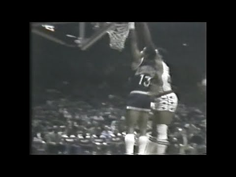 Wes Unseld makes a block on the defensive end and follows it up with a 3 on the offensive end