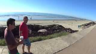Galveston Sea Wall Biking Part 3