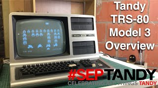 Tandy TRS 80 Model 3 - #SepTandy