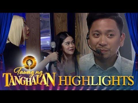 Vice catches Jhong and Sanrio   Tawag ng Tanghalan