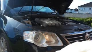 VW passat b6 1.9 детонация двигателя при старте.