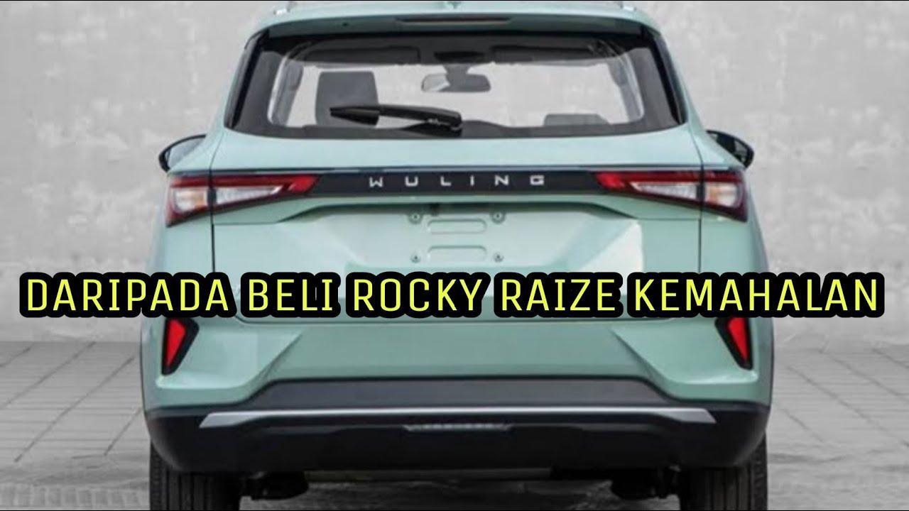 """Mobil SUV Baru Paling Murah Wuling Rp 130 Jutaan Resmi Di Luncurkan, Raize Dan Rocky """"Minder Alus"""""""
