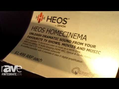 Integrate 2016: HEOS by Denon Shows HomeCinema Soundbar on the Qualifi Stand