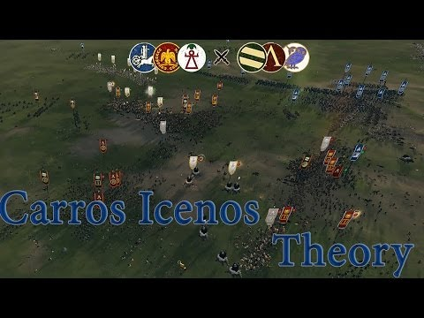 "Total War: Rome II ""The Iceni Carro Theory Pt.1"" 3v3 CON Hugo & Mayor"