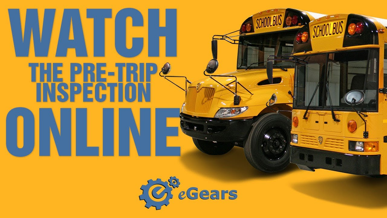 cdl pre trip inspection diagram 1998 jeep grand cherokee laredo radio wiring school bus pre-trip for test - youtube