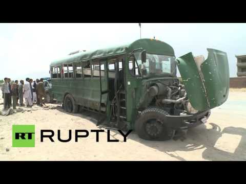 Afghanistan: Suicide bomb attack kills at least 27 in Kabul