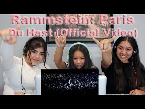 Three Girls React To Rammstein: Paris - Du Hast (Official Video)