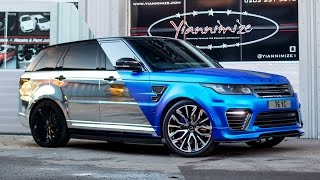 My SVR wrapped in Satin Chrome Blue