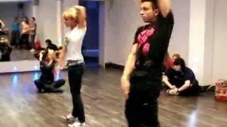 Tecktonik Electro dance Sam Zakharoff & Belka - Jam with Jey-Jey and Chris - Часть 2
