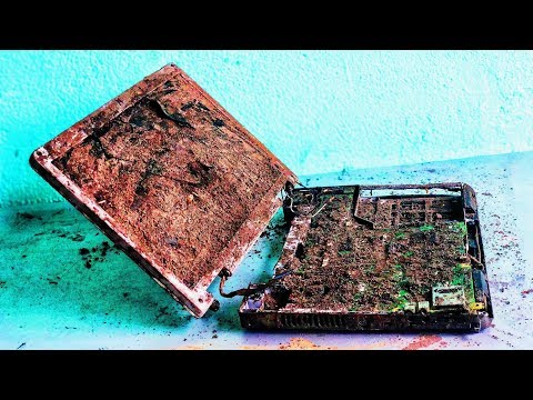 Restoration A Discarded 15 Year Old DELL Laptop | Recycle And Restore Destroyed DELL Laptops