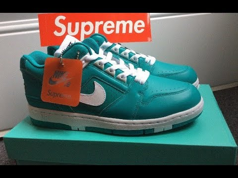 SUPREME X NIKE SB AF2 AIR FORCE 2 UNBOXING REVIEW - YouTube d2d2c342c
