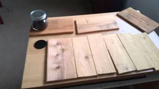 Tobacco Pipe Rack/shelf Project Part 1