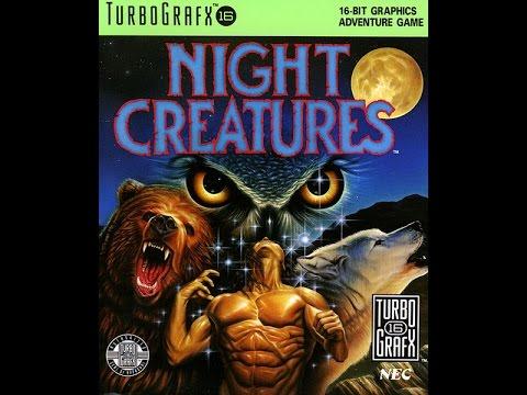 night creatures turbografx