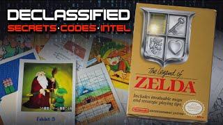 SECRETS, CODES, & INTEL | The Legend of Zelda Declassified NES | NESComplex