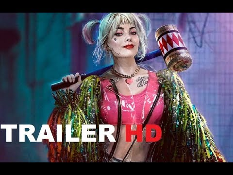 BIRDS OF PREY Official Trailer (2020) Harley Quinn,  Margot Robbie, DC Movie HD