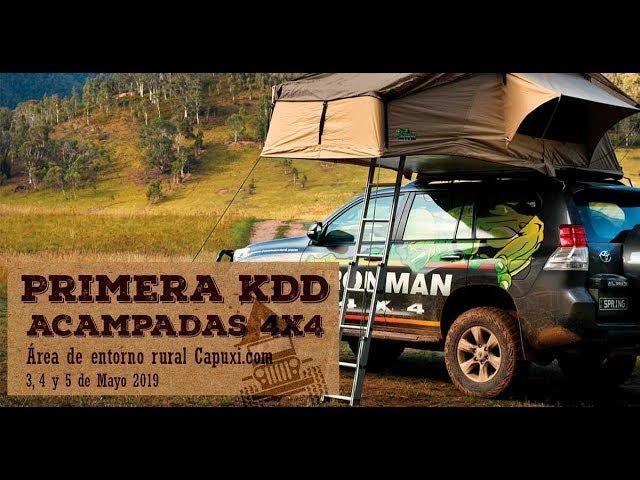 1ª KDD acampadas 4x4