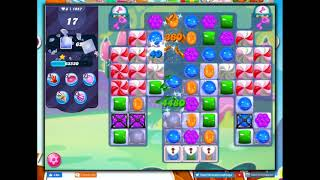 Candy Crush Level 1957 Talkthrough, 22 Moves 0 Boosters screenshot 4