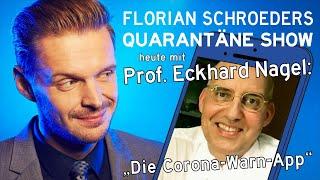 """Die Corona-Quarantäne-Show vom 17.06.2020 mit Florian Schroeder und Prof. Eckhard Nagel: """"Die Corona-Warn-App"""""""