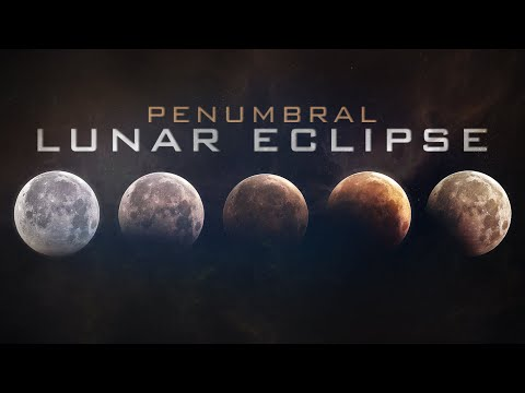 Wolf Full Moon after Penumbral Lunar eclipse Live Stream