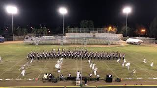 The Loara Saxon Marching Band 2018-Tryptich @Kennedy field show tournament