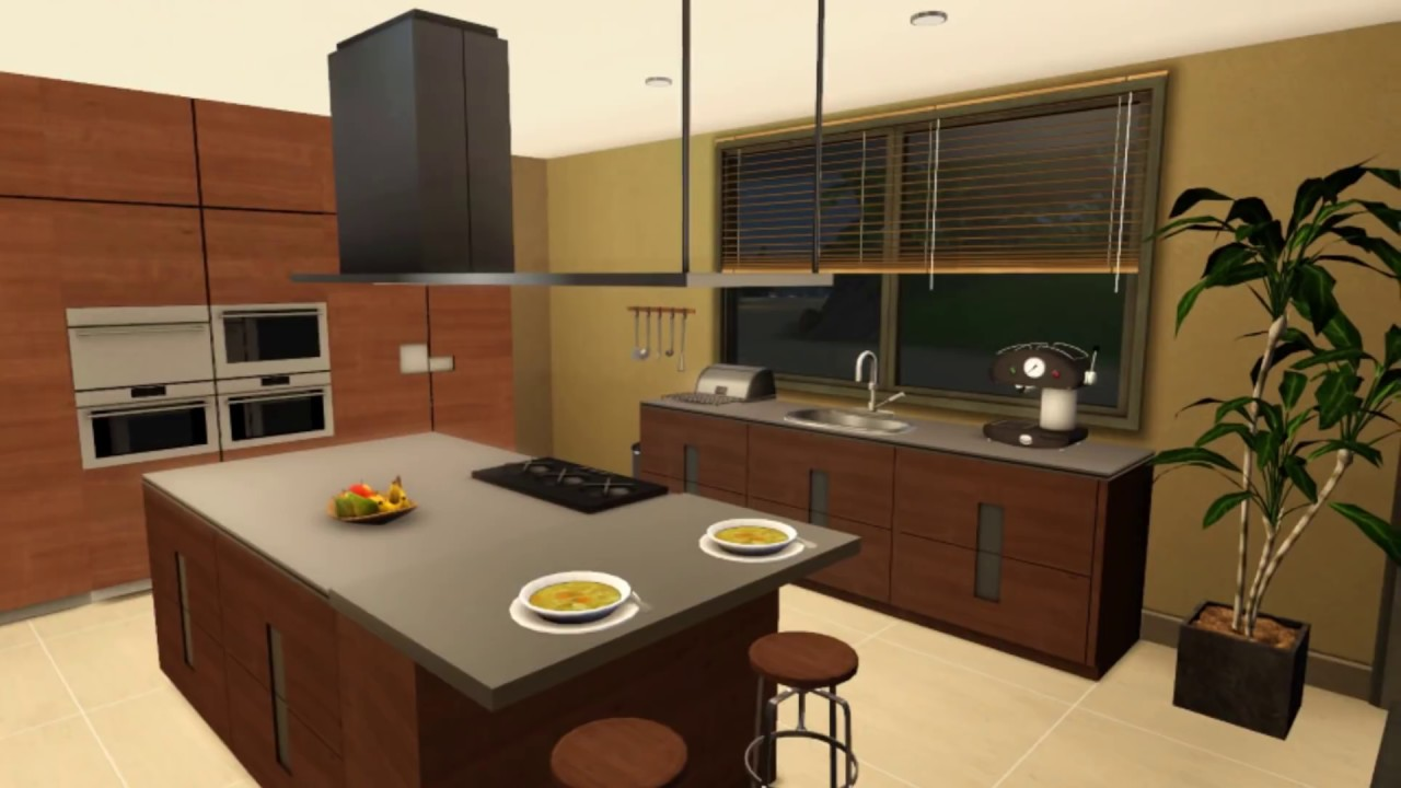 House Sims 3 Minimalist House Hd Youtube