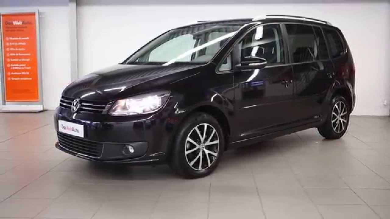 volkswagen touran occasion 1 6 tdi 105 fap confortline. Black Bedroom Furniture Sets. Home Design Ideas