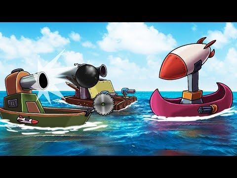 Minecraft | RAFT WARS: Boat Defense Challenge! (Defend Your Boat Fort)
