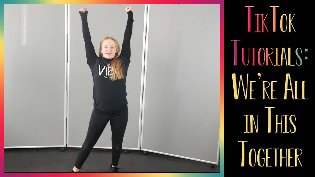 We're All in This Together TikTok Dance Tutorial