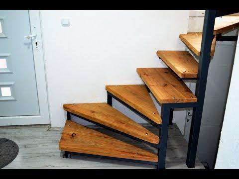 DIY IDEA | INTERIOR WOODEN STAIRS