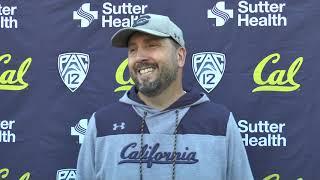 Cal Football Post Practice - OC/QB Coach Beau Baldwin 9/17/19