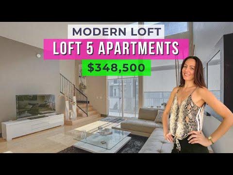 Loft 5 Las Vegas︱Modern Loft close to the Strip︱1638 sqft, 1bd, 2.5bath, Guard Gated
