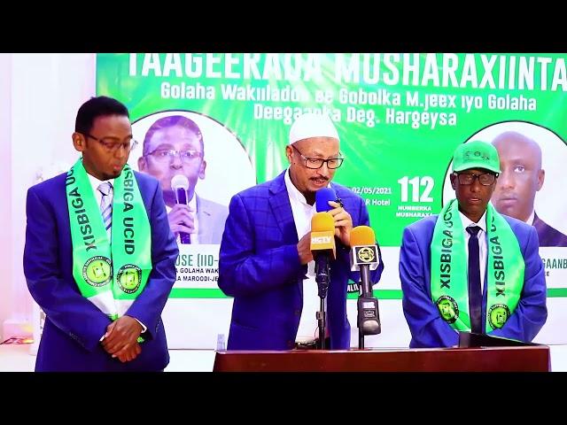 Markay Doorashadu Inoo Dhacdo-na Aduunyadu Waxay Ku Tashatay In..,