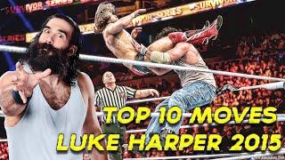 Top 10 Moves of Luke Harper 2015