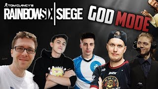 When streamers activate GOD MODE - Rainbow Six Siege