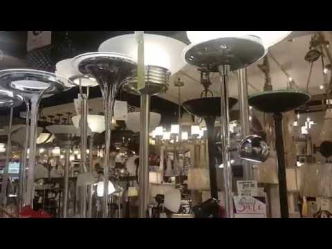 Shopping at Lamps Plus