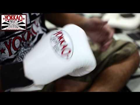YOKKAO Denim Muay Thai Gloves - YOKKAO Muay Thai Factory Bangkok!