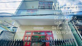 image Nhà Bán Cần Thơ | Bán Nhà Trệt Lầu Hẻm 44 CMT8 Phường Cái Khế Quận Ninh Kiều TP Cần Thơ