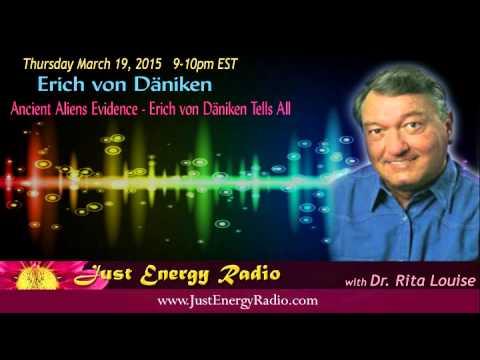 Ancient Aliens Evidence – Erich von Däniken Tells All - Just Energy Radio