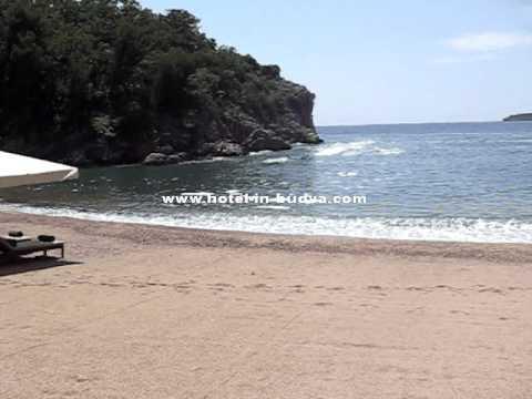 Queen beach (Kraljičina Plaža ) - Budva