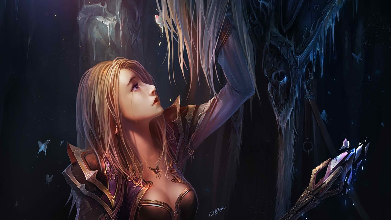 The Story Of Arthas Menethil Told By Cinematics And Cutscenes