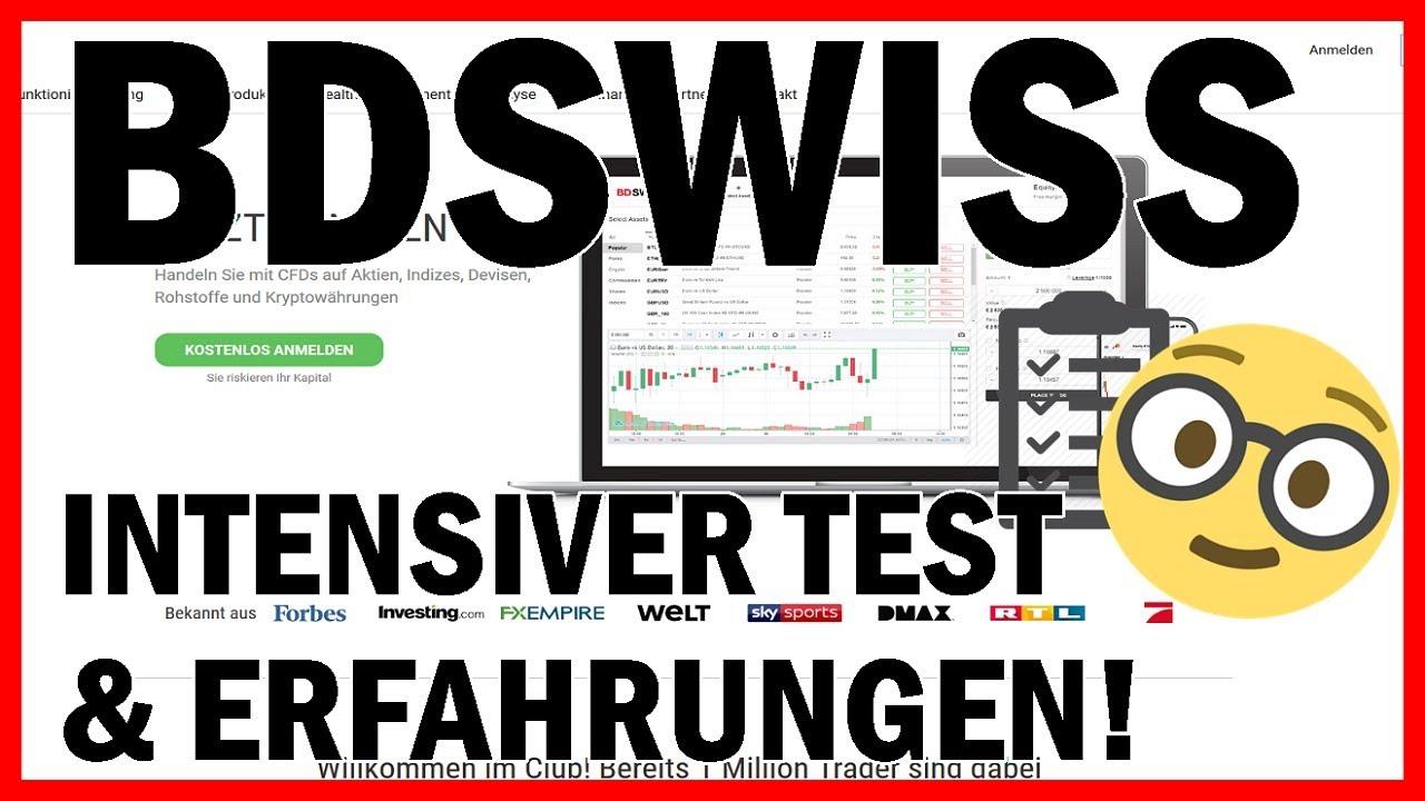 Bdswiss Test Erfahrungen